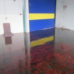 Epoxy concrete floor paints Sunderland Tyne and Wear