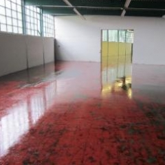 Epoxy concrete floor paints North East England