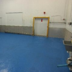 North East England Factory Floor Painting