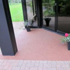Resin paving Newcastle Business Village North Tyneside