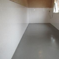 Seamless Dog Kennel Flooring North East England