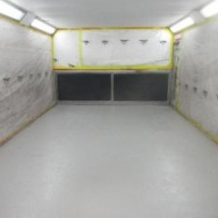 Garage Floor Painting Birtley North East England