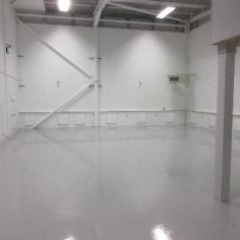 Resin Flooring Silverlink North Shields Tyne & Wear
