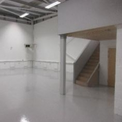 Industrial Flooring Silverlink North Shields Tyneside