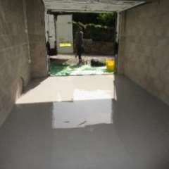 Epoxy Garage Flooring Pateley Bridge North Yorkshire