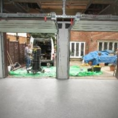 Fast Cure Resin Garage Flooring North East England