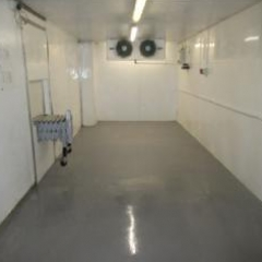 Food Grade Chiller Room Flooring North East England