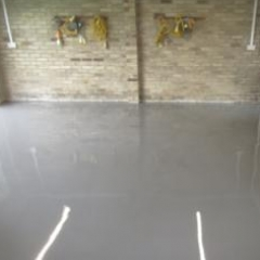 Seamless Resin Garage Flooring Bradbury County Durham