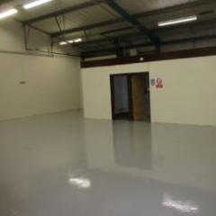 Commercial Garage Flooring Cramlington Northumberland