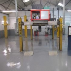 Garage Workshop Flooring Selby North Yorkshire