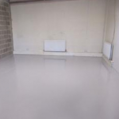 Garage Workshop Floor Painters County Durham