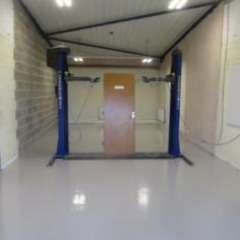 Garage Workshop Flooring Bishop Auckland County Durham