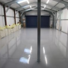 Garage Workshop Flooring Osmotherley North Yorkshire