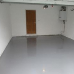 Seamless Epoxy Garage Flooring Wynyard Park Billingham