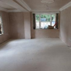 Dust free floor screed preparation North East England