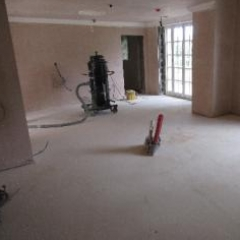 Concrete grinding by Resin Flooring North East Ltd