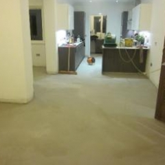 Micro screed domestic concrete flooring Durham
