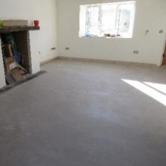 Bespoke waxed concrete floors North East England