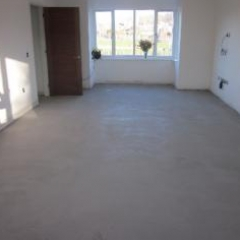 Micro screed flooring living room County Durham