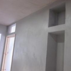 Microscreed application to vertical surfaces Newcastle