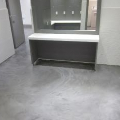 Microscreed installed at health and beauty spa Cumbria