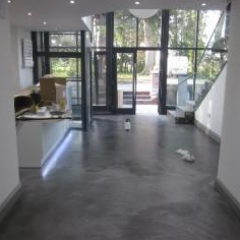 Commercial microscreed installation Carlisle Cumbria