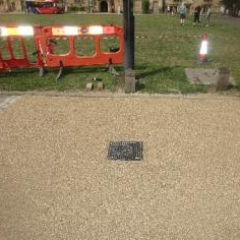 Resin Bonded Surfacing Palace Green Durham City Centre