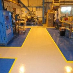 Warehouse Floor Painters Gateshead Tyne and Wear