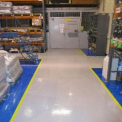 Warehouse Floor Painting Gateshead North East England