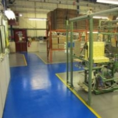 High build epoxy resin floor paint Newcastle Upon Tyne