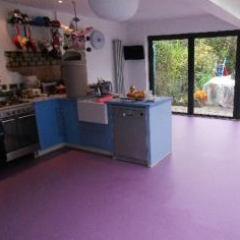 Barefoot Interiors poured polyurethane floors London