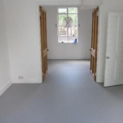 Poured liquid resin floors North East England