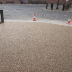 Resin bound gravel surface Rags Hotel Bridlington