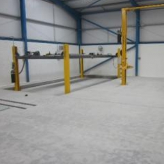 Industrial resin coatings screeds paints North East