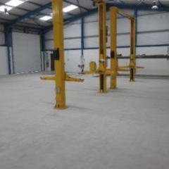 Concrete substrate prepared by diamond grinding Redcar