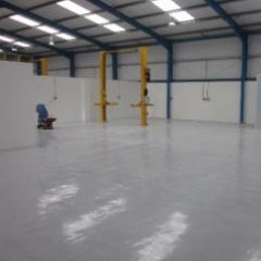 High build floors epoxy coatings North East England