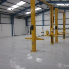 Epoxy resin flooring coatings paint North East England