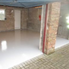 Garage Floor Painting Gamblesby Penrith Cumbria