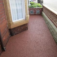 North East Resin Exteriors Gravel Floor Screeds