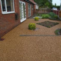 Resin exteriors gravel floor screeds Seaburn Sunderland