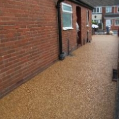 Resin exteriors gravel floor screeds Fulwell Sunderland