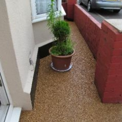 Domestic resin paving Roker Sunderland