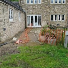 Resin exteriors patio installation North East England