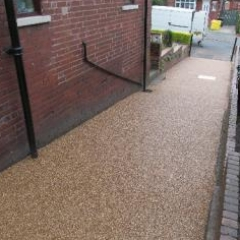 Resin bound surfacing Northumberland