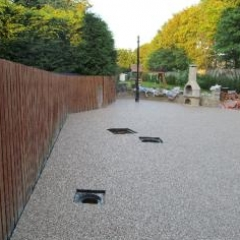 Gravel paving screeds County Durham Resin Exteriors