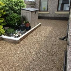 Resin bound gravel Roker Sunderland Tyne and Wear
