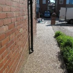 Gravel paving screeds pathways driveways Newcastle