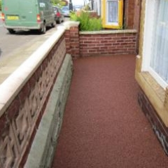 Newcastle Resin Exteriors Gravel Floor Screeds