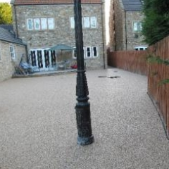 Gravel paving screeds Durham exterior resin surfaces