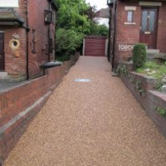 Gravel paving screed North East England